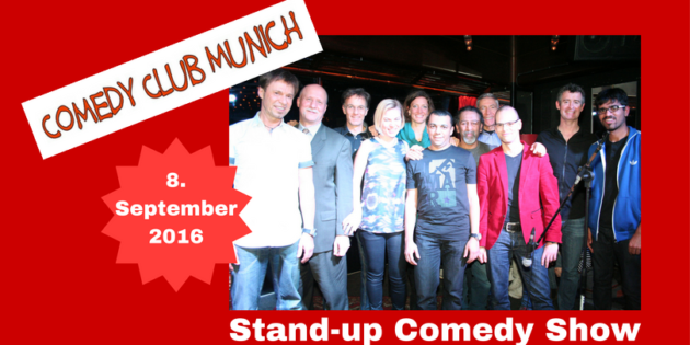 Comedy Club Munich - Stand up Comedy Show