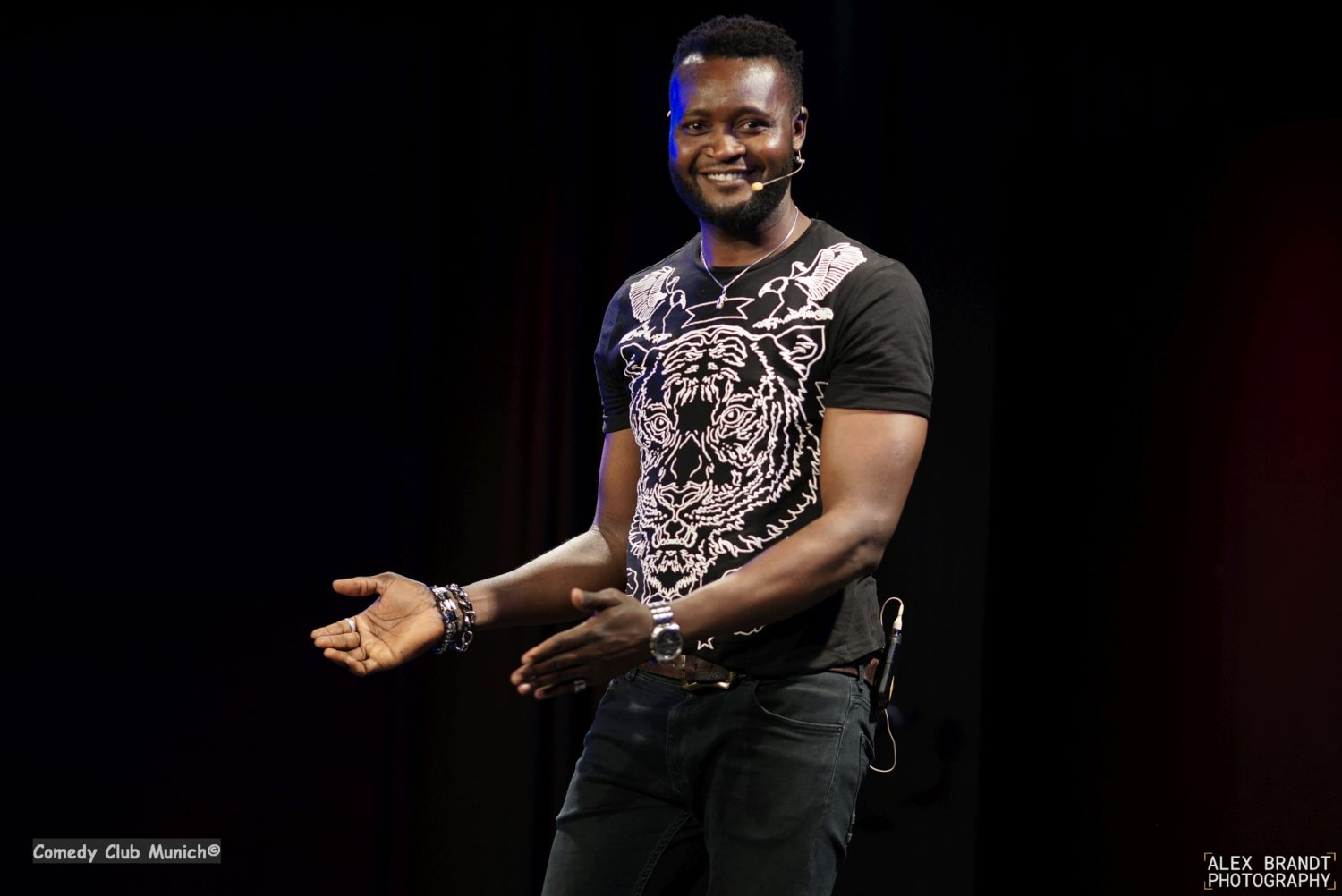 Samuel Ozioma - Comedy Club Munich