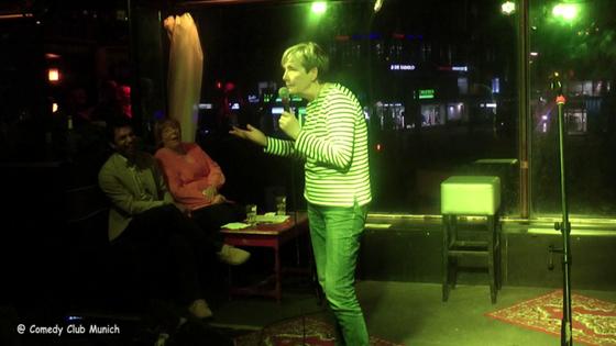 Gudrun Wahnschaffe - Comedy Club Munich