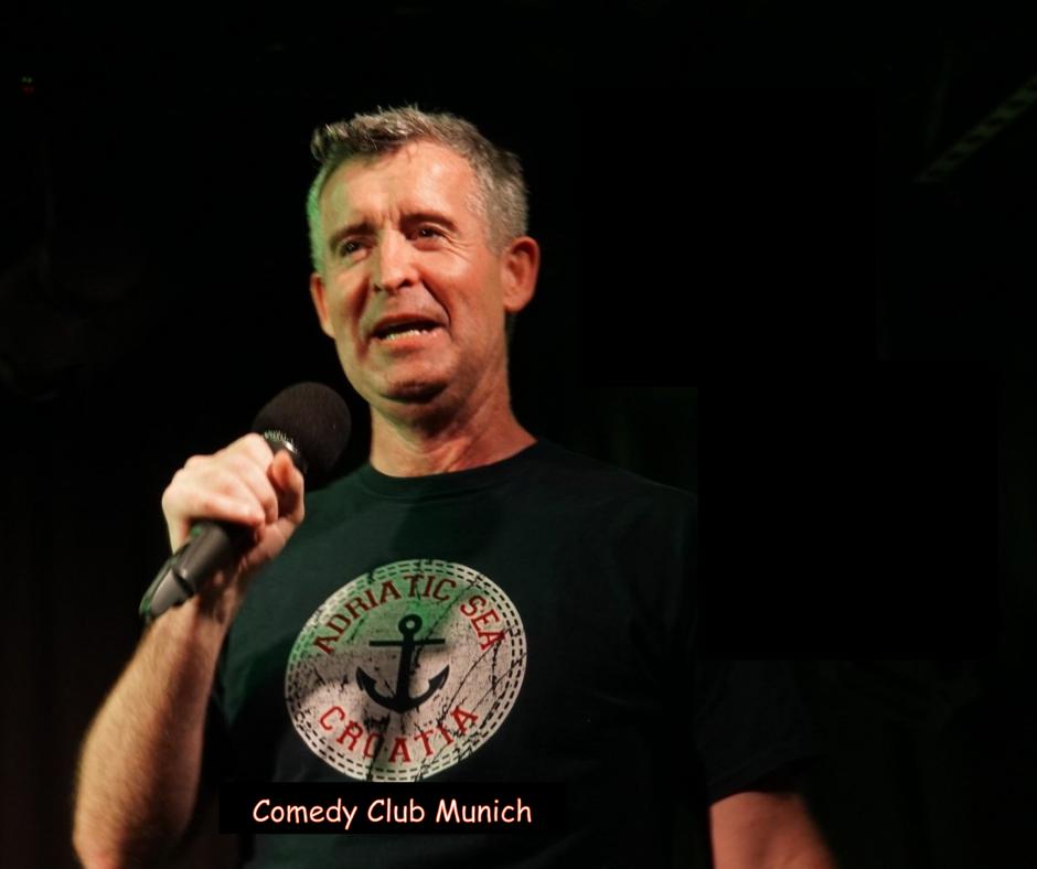 Mel Kelly - Comedy Club Munich